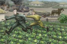Подвиг ездового Овчаренко