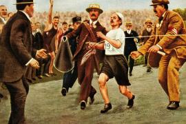 Олимпийская драма бегуна Дорандо Пьетри или главное – не победа, а участие!