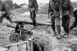 Подвиг неизвестных пулемётчиков на подступах к Сталинграду