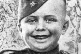 Гвардии рядовой Серёжа Алёшков - самый молодой солдат Великой Отечественной войны