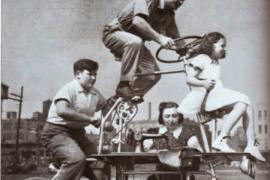 Швейная велосемья, собакоциклы, козломобили и прочие чудеса колёсной техники