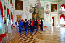 Детский турнир в Петергофе