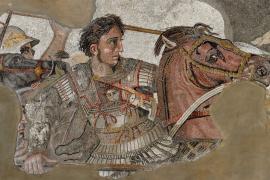 Рассуждение коня о картине с Александром Македонским