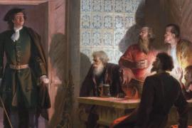 Как царь Пётр заговорщиков арестовал