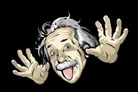 Эйнштейн и его язык. История одной фотографии