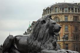 Купание львов у Белых ворот
