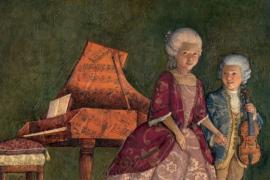 Моцарт снизошёл – пожелал жениться на принцессе