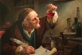 Поэт-алхимик Аугурелли и пустой мешок для золота