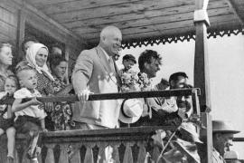 Никита Хрущёв в родном колхозе