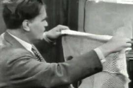 Как с помощью женского чулка превратить чёрно-белое ТВ в цветное