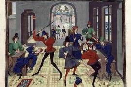 Средневековые шахматные страсти