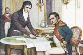 Наполеон и пароход Фултона