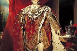 Ответ короля Георга IV на солнечную лесть придворного