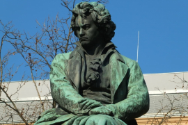 Памятник грубияну Бетховену