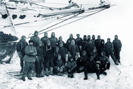 Выносливые полярники судна «Выносливость», запечатлённые очень выносливым фотографом Фрэнком Хёрли