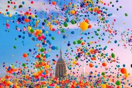Атака воздушных шариков на Кливленд
