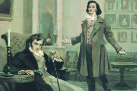 Пушкин и Ленский