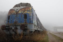 Поезд-призрак и розыгрыш с ломиком