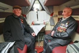 Поездка ветерана Великой Отечественной на малую родину