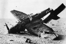 Удачный выстрел: «Юнкерс», сбитый из танковой пушки