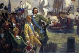 Пётр Великий и справедливое решение адмиралтейской коллегии