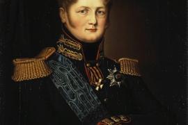 Александр I и попугай