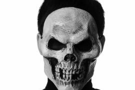 Страшный череп в новогоднюю ночь