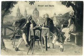 Необычный розыгрыш Моцарта над Гайдном