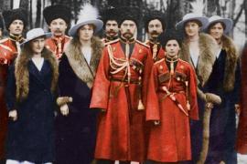 Николай Второй и солдат