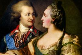 Екатерина Великая, племянник Потёмкина и барометр