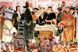 Пётр Первый и взятки-подарки