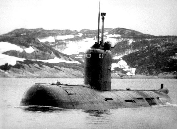 подводная лодка проекта 641б сом б-380