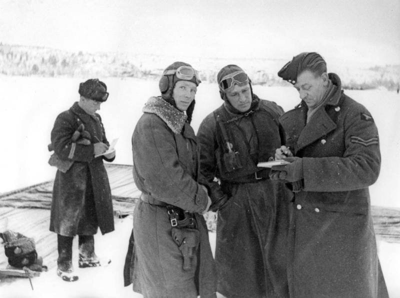 Немецкие летчики в заполярье фото