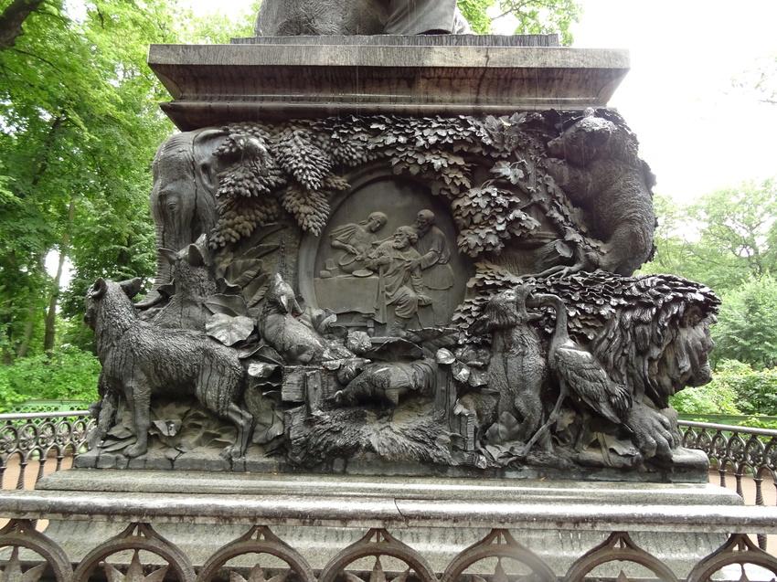 инфекции картинка памятника крылову в петербурге меньше женщину