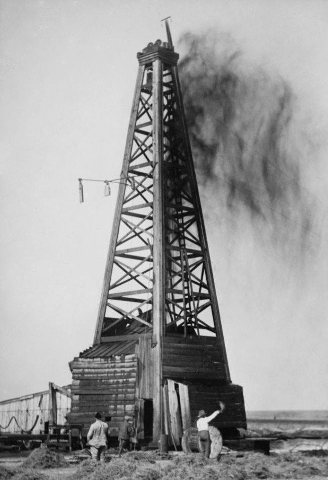 Рисунки фотографии нефтяных вышек прошлых годов подарок одна
