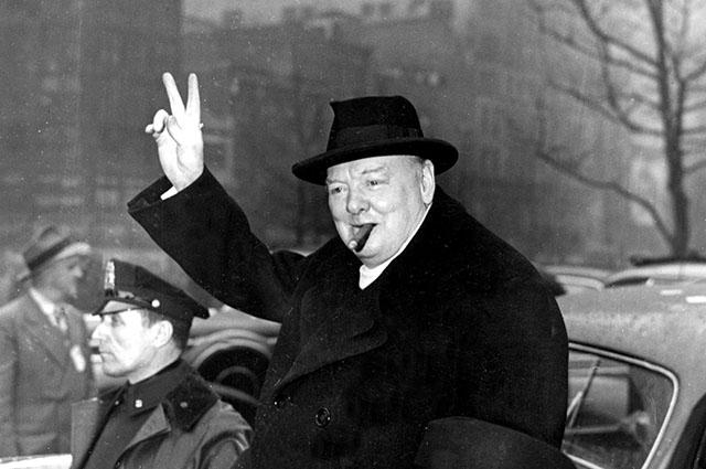 """История фотографии """"Рычащий Лев"""". Черчилль без сигары"""