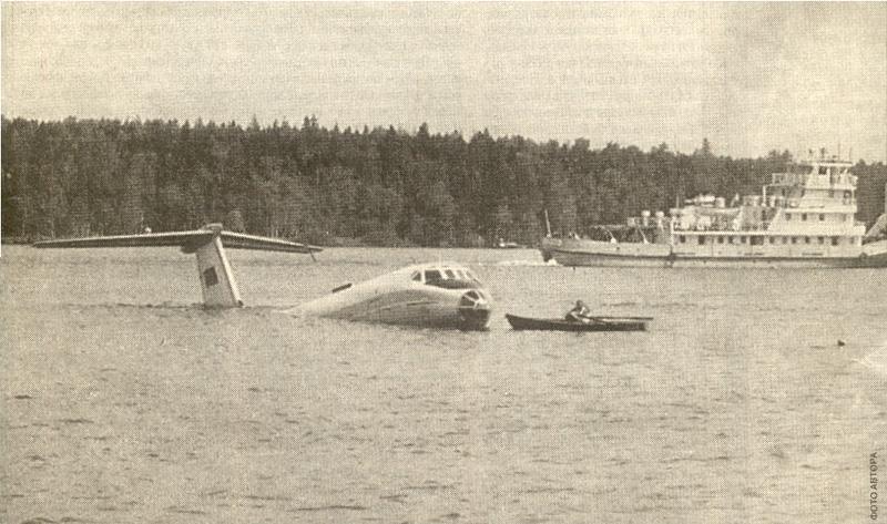 самолет сел на неву в ленинграде фото свая