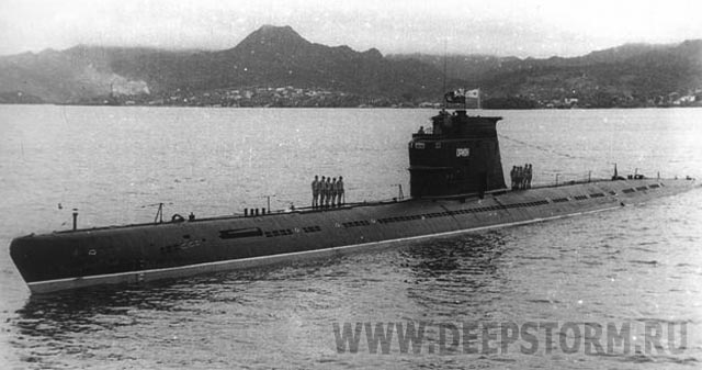 подводная лодка орион