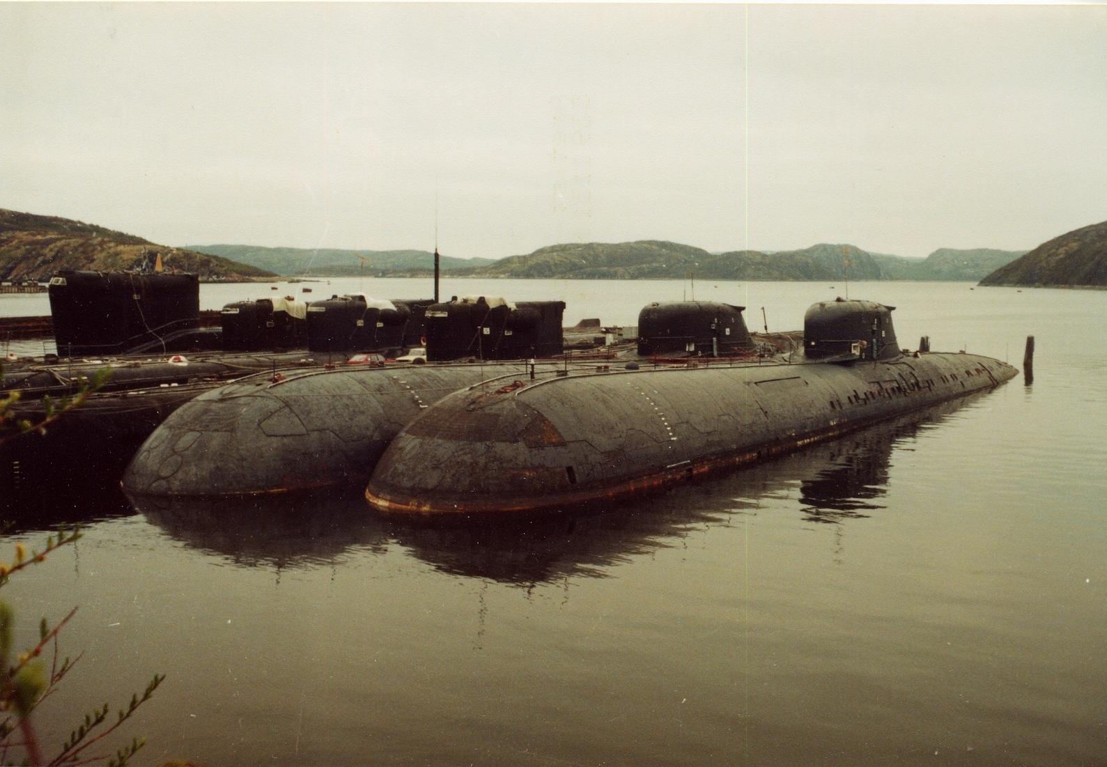 брошенная американская подводная лодка