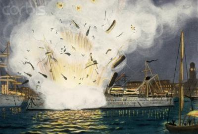 Взрыв на крейсере «Мэн» - как повод для войны