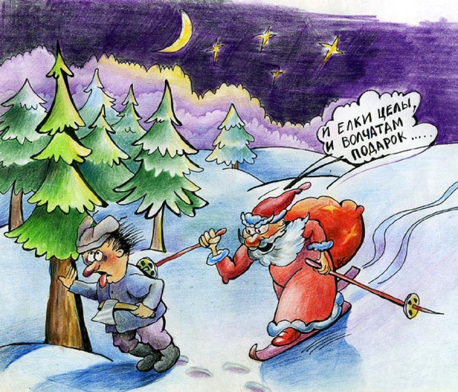 Анекдот Мороз